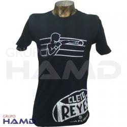 Playera Cleto Reyes | Algodón Modelo Boxeador
